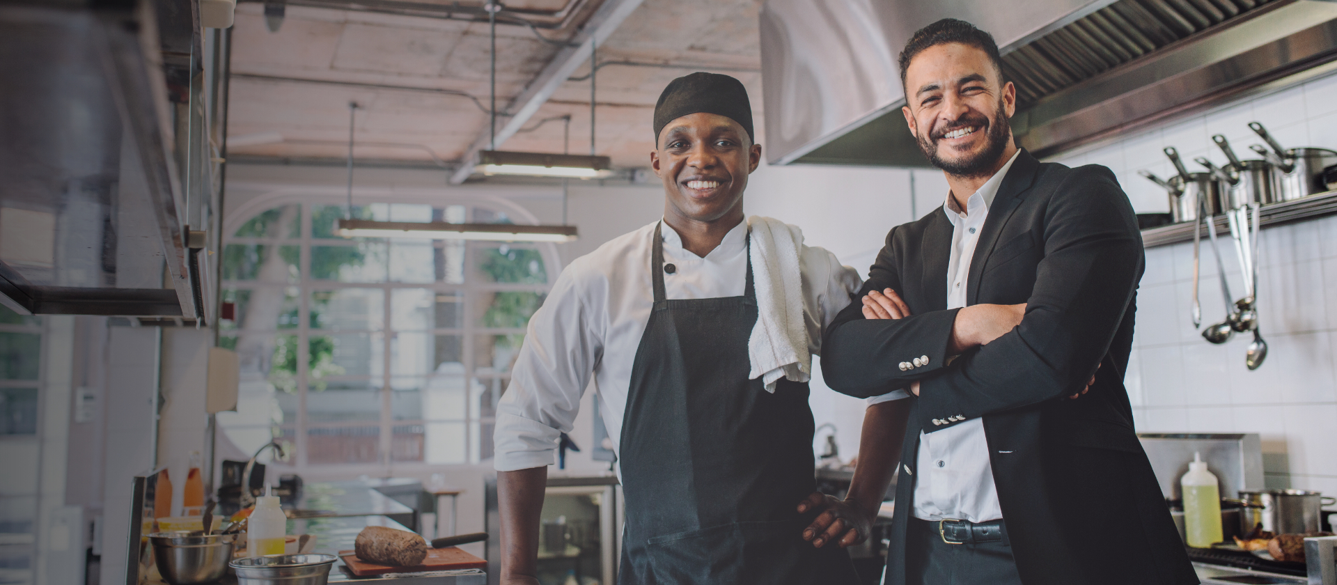 Restaurant Owner and worker